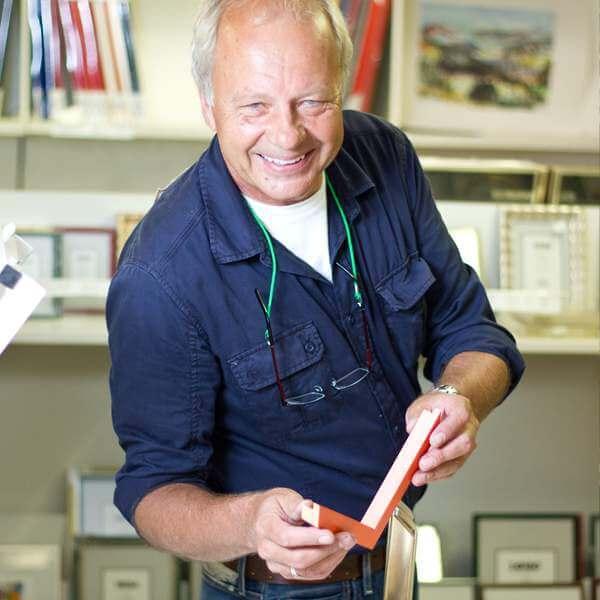 Burkhard Weber von der Kunstwerkstatt in Schmallenberg