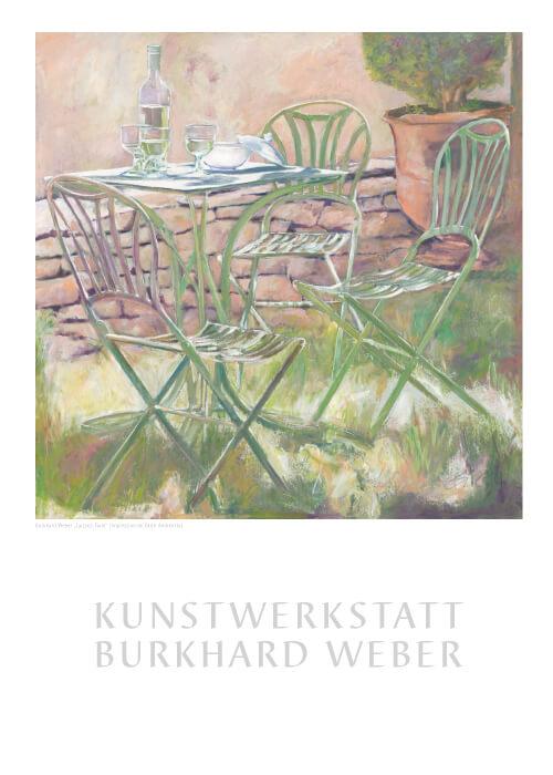 """Der Kunstdruck """"Laissez-Faire"""" ist ab jetzt inder Kunstwerkstatt Weber erhältlich"""
