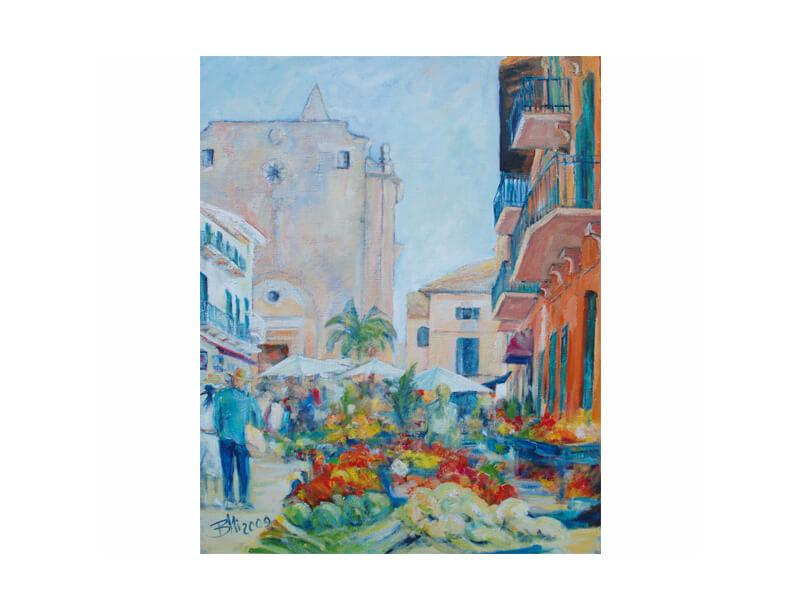 Santanyi Acryl auf Leinwand 70 x 95 cm