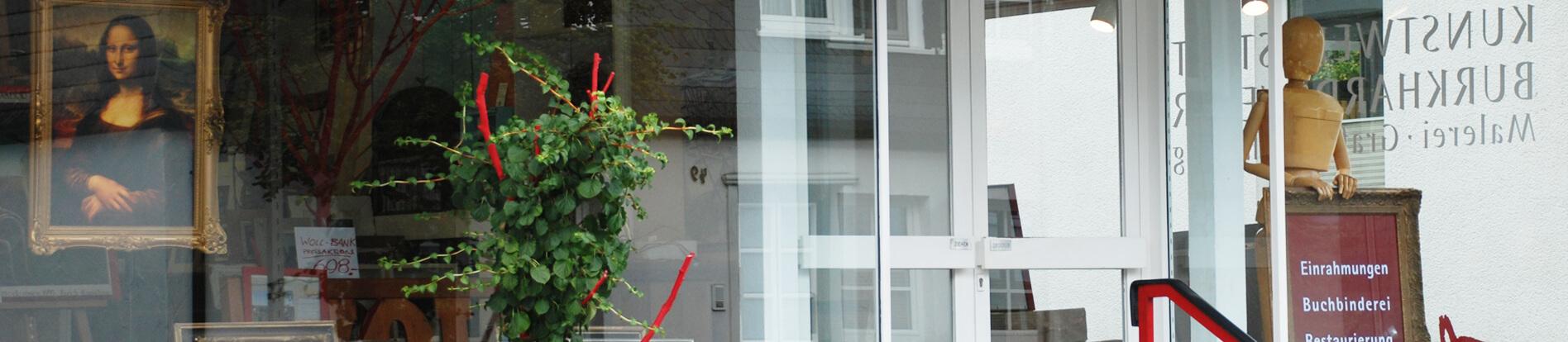 Kunstwerkstatt Weber in Schmallenberg Eingang