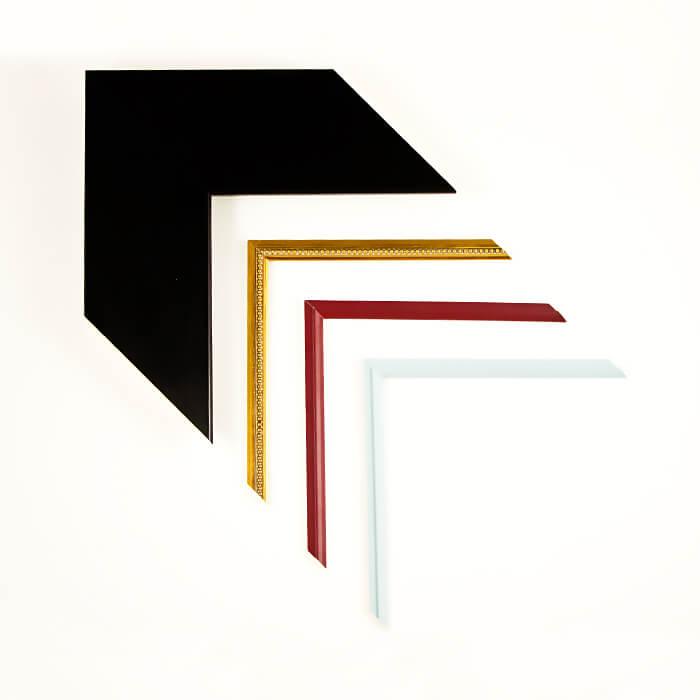 schwarzer dicker Rahmen Filets