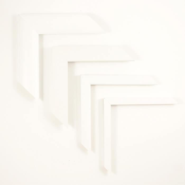 weiße Bilderrahmen
